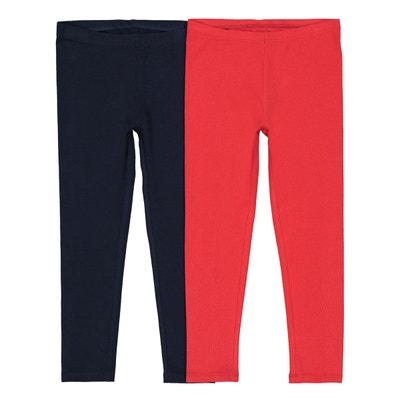 Lot de 2 leggings 3-12 ans Lot de 2 leggings 3-12 ans 23601ce3a6e