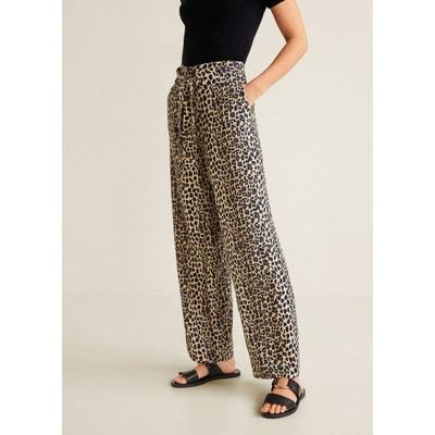 Pantalon droit fluide Pantalon droit fluide MANGO 498742ebd33c