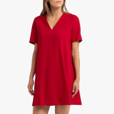 Robe Rouge Femme La Redoute