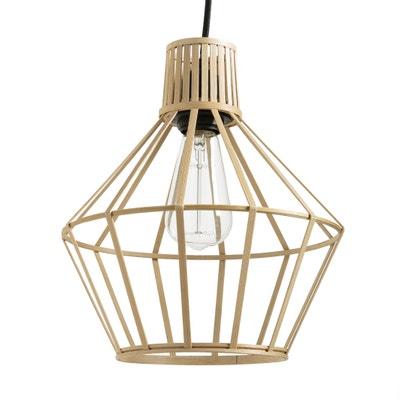 Hanglamp in bamboe, Achara Hanglamp in bamboe, Achara LA REDOUTE INTERIEURS