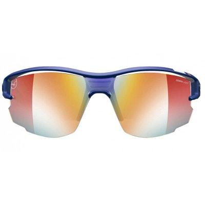 f8db84cc21 Lunettes de soleil mixte JULBO Bleu AERO Martin Fourcade Bleu / Blanc /  Rouge - Interchangeable