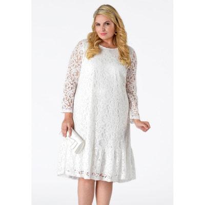 9eac6af50b4 Robe blanche dentelle
