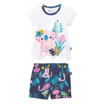 793e4d4a0f9ad Pyjama fille manches courtes Sao Pyjama fille manches courtes Sao PETIT  BEGUIN