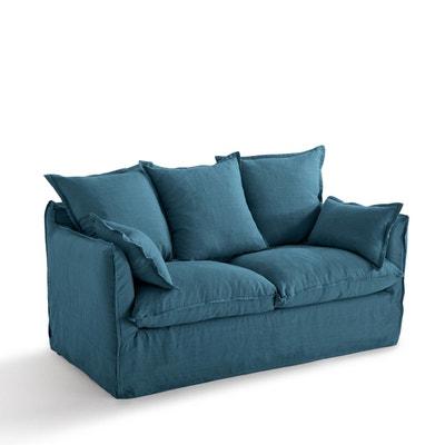 Canape Convertible Bleu