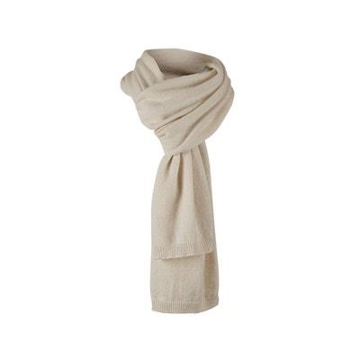 Luxueuse écharpe doux en cachemire et mérinos Luxueuse écharpe doux en  cachemire et mérinos WOOLOVERS a6bdc81b8dd