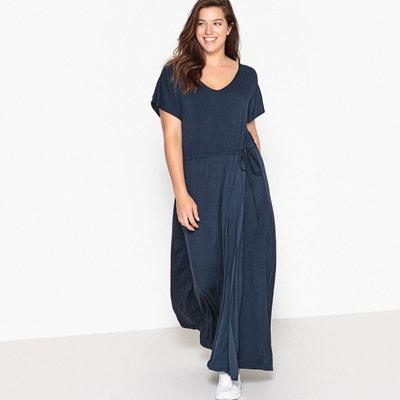 41ad8c4768b Robe bleu marine manches longues