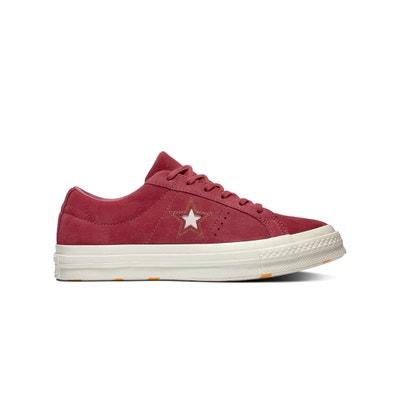 36379e12687 Zapatillas bajas de piel aterciopelada One Star Zapatillas bajas de piel  aterciopelada One Star CONVERSE