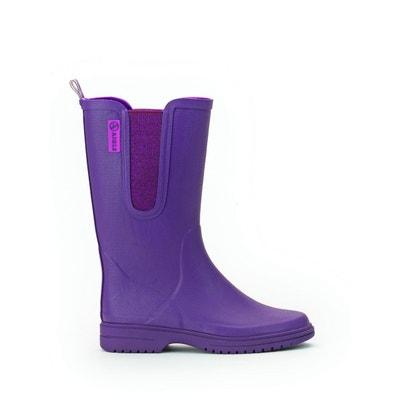 Bottes violettes femme   La Redoute