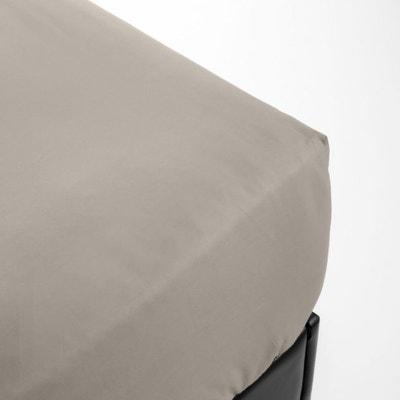 Drap housse flanelle avec simple 90/x 200/cm.R/êves pur coton naturel 100/% rose