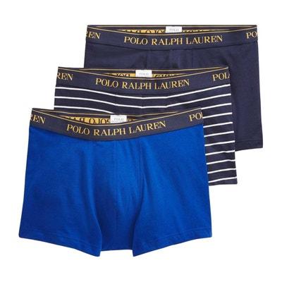 3661c5a522e90 Boxers lisos POLO RALPH LAUREN (lote de 3) Boxers lisos POLO RALPH LAUREN (