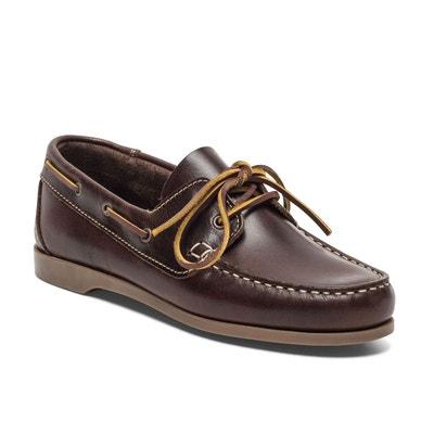 12b85ff7a12662 Chaussures bateau cuir PIETRA TBS