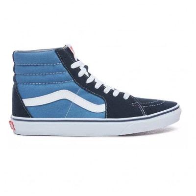 vans bleu et noir