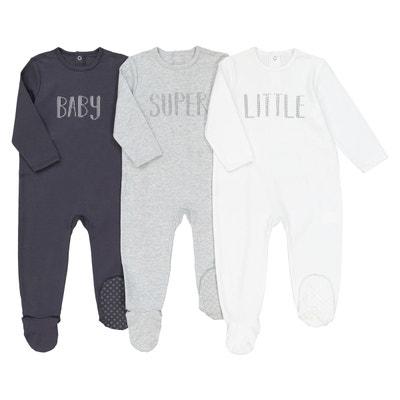 31d879e048b4e Lot de 3 pyjamas 1 pièce