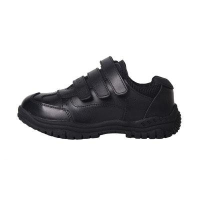 Kangol Latham formateurs juniors garçons Noir Baskets Chaussures Enfants Chaussures