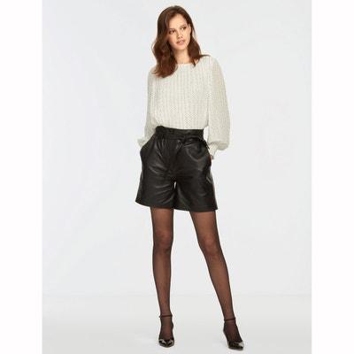 Short cuir femme | La Redoute