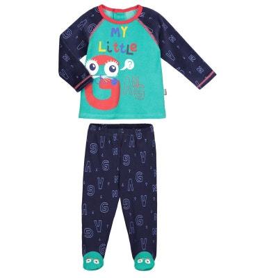 4afe0bcb77108 Pyjama bébé 2 pièces avec pieds Gang PETIT BEGUIN
