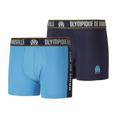 d8db3e43e8316 Lot de 2 boxers OM Bleu Lot de 2 boxers OM Bleu MADE IN SPORT