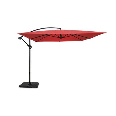 Parasol voile d 39 ombrage la redoute - Parasol deporte rectangulaire 4x3 ...