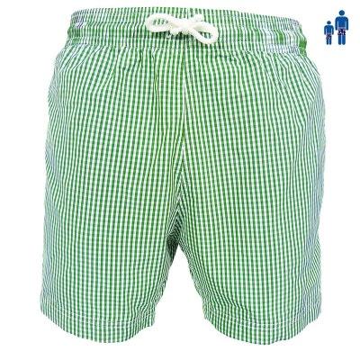 45059fa222 Maillot Short de bain homme Jules Vichy classique - bleu ou vert Maillot  Short de bain