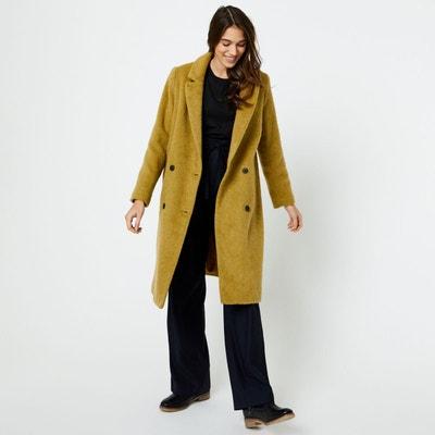manteau femme jaune la redoute. Black Bedroom Furniture Sets. Home Design Ideas