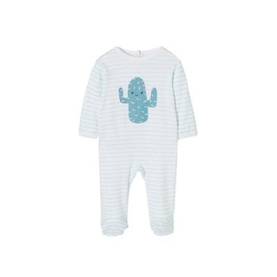 c3d0c30c5e81a Dors-bien bébé en coton pressionné dos cactus VERTBAUDET