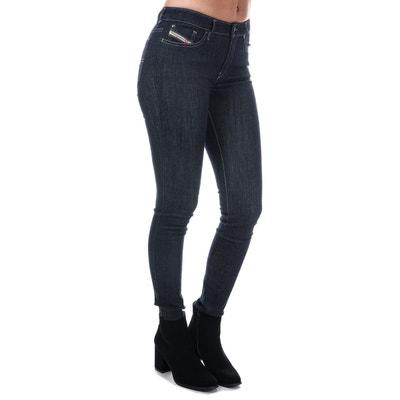 f209c17fc6 Jeans Skinny Skinzee Diesel Bleu Brut Fonce Jeans Skinny Skinzee Diesel  Bleu Brut Fonce DIESEL