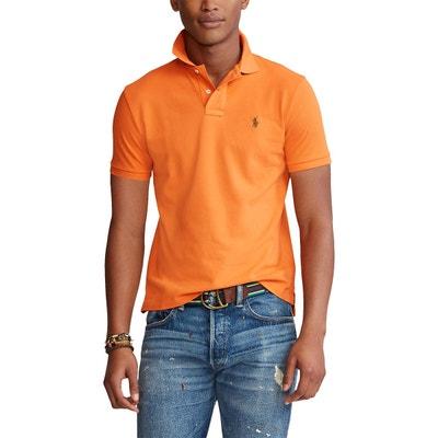 Polo orange homme   La Redoute