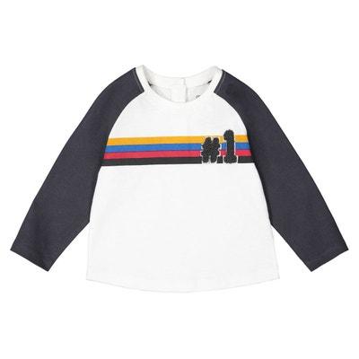 3ada76fb4705e T-shirt manches longues 1 mois-4 ans T-shirt manches longues 1