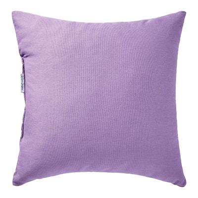 Coussin violet et gris   La Redoute