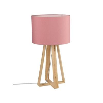 Lampe de chevet romantique rose | La Redoute