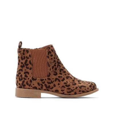 Boots chelsea bedrukt luipaard 28-36 Boots chelsea bedrukt luipaard 28-36 LA REDOUTE COLLECTIONS