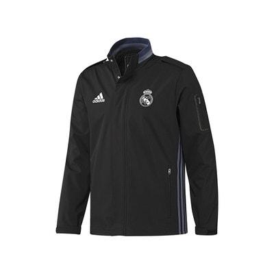 Veste coupe vent Real Madrid Noir Veste coupe vent Real Madrid Noir adidas  Performance 4cccc1032b7