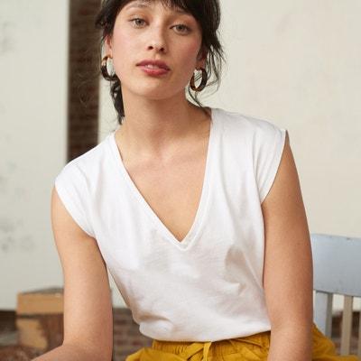 0696f782ec T-shirt em algodão bio