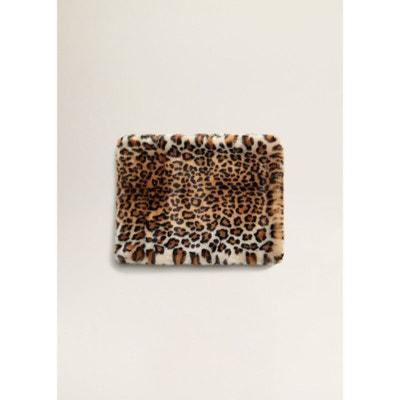 Étole fausse fourrure léopard Étole fausse fourrure léopard MANGO 9491d4d67b6