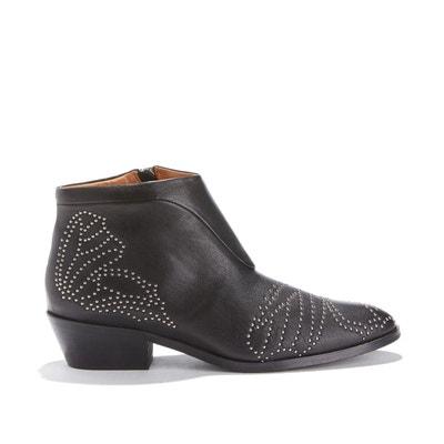 c43493c21871 Boots cuir de veau WECCA ANONYMOUS COPENHAGEN