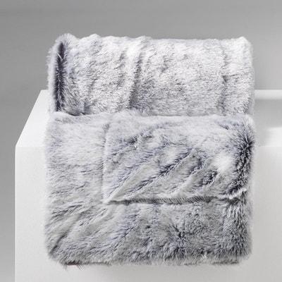 Plaid Couverture a poil doux imitation Fourrure Collection Antartic DOUCEUR  D INTÉRIEUR bc643df91c6