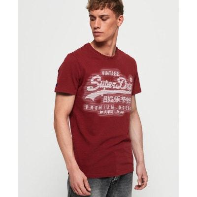 d8b8908ba08d9 T-shirt imprimé col rond Premium Goods SUPERDRY
