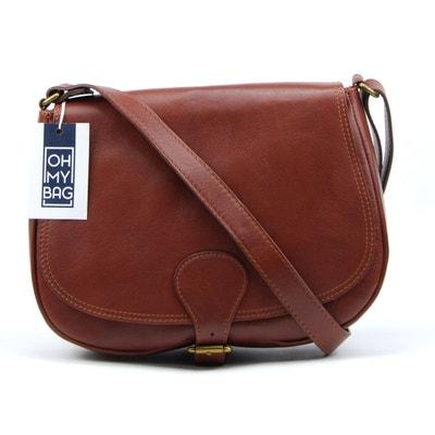 bba89c0884 Sac à main en cuir lisse Vintage OH MY BAG