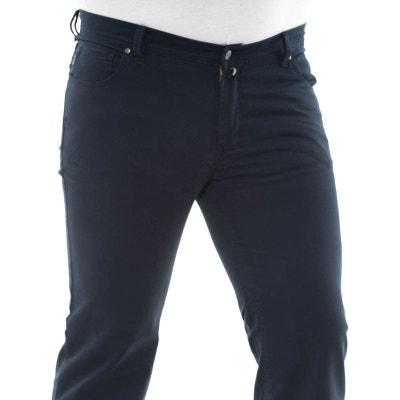 67166df231bb8 Pantalon toile peter bleu marine Pantalon toile peter bleu marine LA MODE  EN LARGE