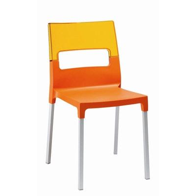 Chaise Plastique Orange
