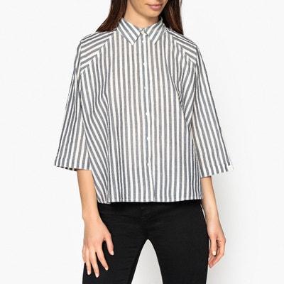 a9a12bb043b Рубашка широкая в полоску Рубашка широкая в полоску MAISON SCOTCH.  Финальная цена