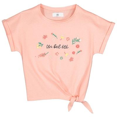 451049e8e203e T-shirt manches courtes imprimé 3-12 ans T-shirt manches courtes imprimé