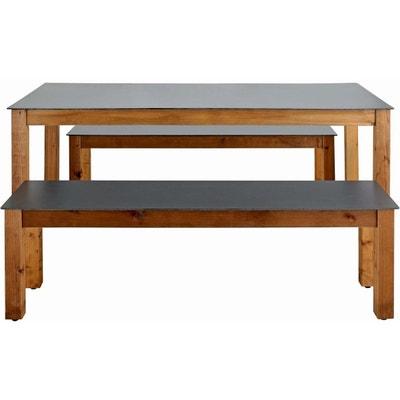 Table banc jardin bois   La Redoute