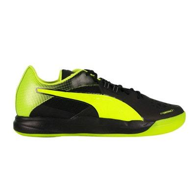 big sale a3bc9 afa8e Chaussures handball Puma Evoimpact 1.2 Noir Vert Chaussures handball Puma  Evoimpact 1.2 Noir Vert