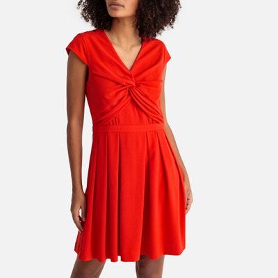 Wijd uitlopende jurk, halflang Wijd uitlopende jurk, halflang SUNCOO