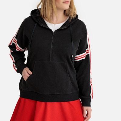 8d7de7128f2bc Women's Sweatshirts & Hoodies | Zip Up, Printed & Slogan | La Redoute