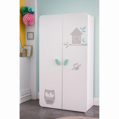 Kast voor babykamer 2 deuren Hiboux Kast voor babykamer 2 deuren Hiboux LA REDOUTE SHOPPING PRIX