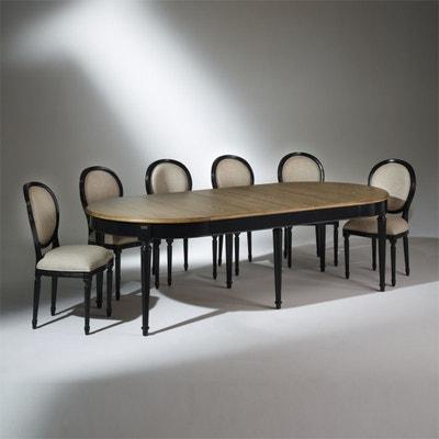Table a manger laque noir   La Redoute