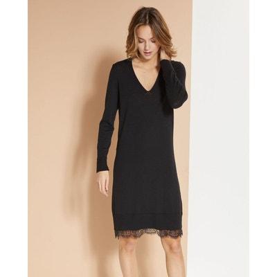design de qualité 08341 48991 Robe pull laine ample | La Redoute