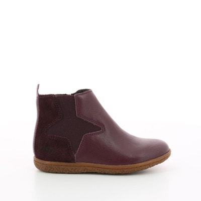 Boots bordeaux | La Redoute